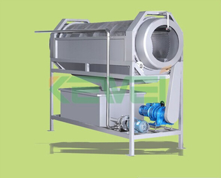 onion cleaning machine/ ginger and date washing machine