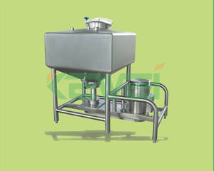 stainless steel square high shear emulsifying tank series