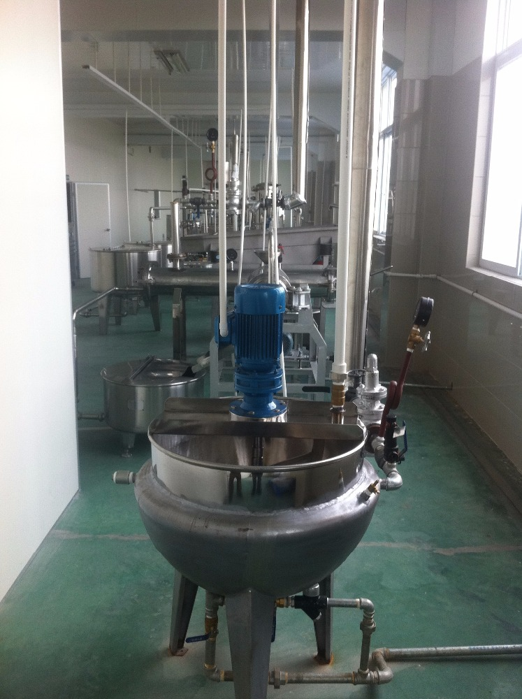 industrial boiling and blanching machine (G model jacketed boiler)