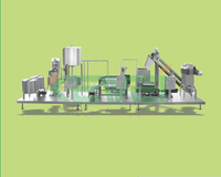 dates paste processing line / fruit jam production line
